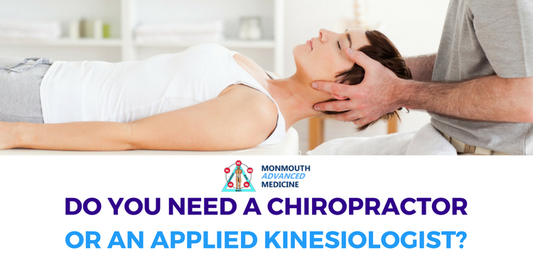 If you have a migraine, should you visit a chiropractor or an applied kinesiologist?
