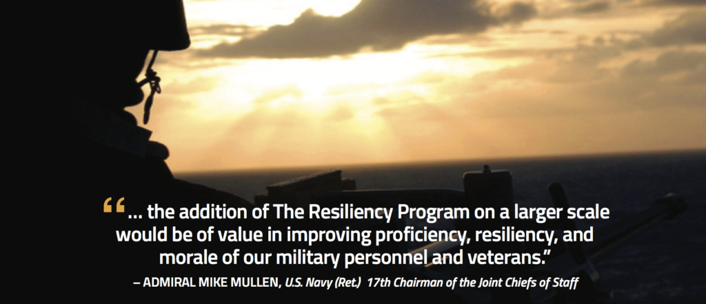 The resiliency program