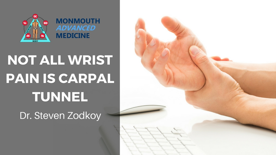Not All Wrist Pain is Carpal Tunnel